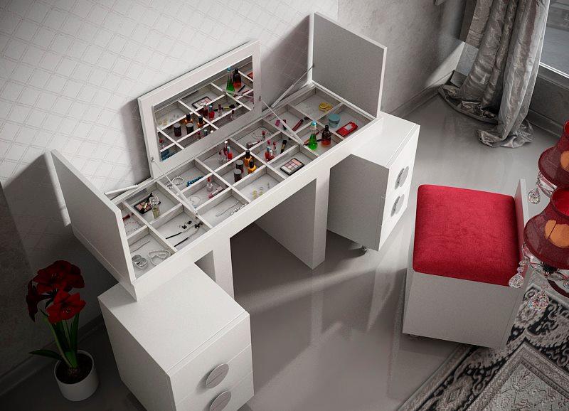 Tocadores de dise o zalan interiorismo - Mueble tocador moderno ...